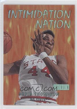 2011-12 Fleer Retro Intimidation Nation #11 IN - David Thompson