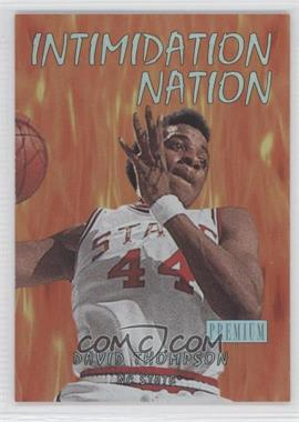 2011-12 Fleer Retro Intimidation Nation #11 IN - David Thompson