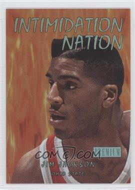 2011-12 Fleer Retro Intimidation Nation #14 IN - Jim Jackson