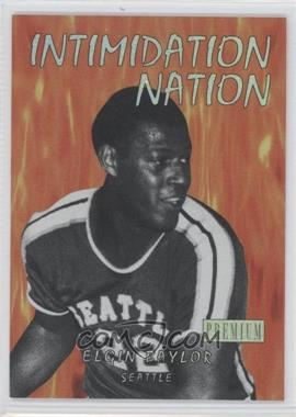 2011-12 Fleer Retro Intimidation Nation #17 IN - Elgin Baylor