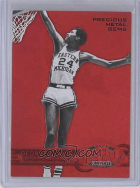 2011-12 Fleer Retro Precious Metal Gems Red #PM-27 - George Gervin /150