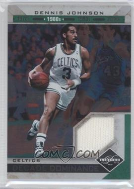 2011-12 Limited Decade Dominance Materials [Memorabilia] #4 - Dennis Johnson /99