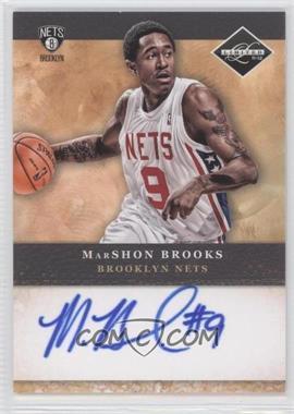 2011-12 Limited Draft Pick Redemptions Autographs #3 - MarShon Brooks