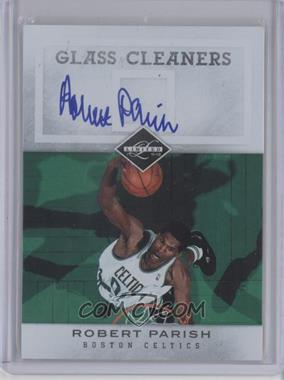 2011-12 Limited Glass Cleaners Signatures [Autographed] #11 - Robert Parish /99
