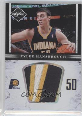 2011-12 Limited Jumbo Materials Prime #30 - Tyler Hansbrough /10