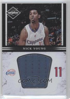 2011-12 Limited Jumbo Materials #15 - Nick Young /99