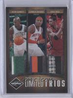 Chris Bosh, Kevin Garnett, Carmelo Anthony /15