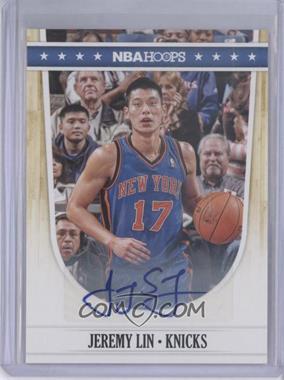 2011-12 NBA Hoops - [Base] - Autographs [Autographed] #67 - Jeremy Lin