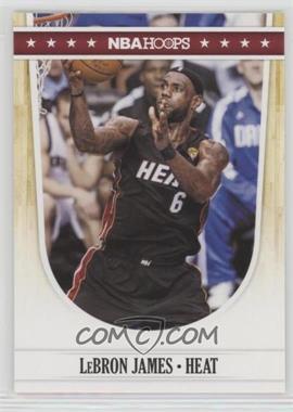2011-12 NBA Hoops - [Base] #119 - Lebron James
