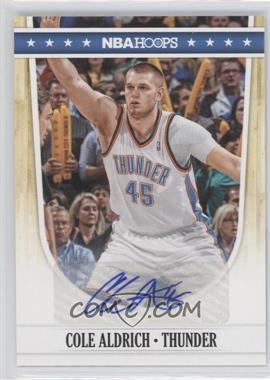 2011-12 NBA Hoops Autographs [Autographed] #168 - Cole Aldrich