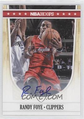 2011-12 NBA Hoops Autographs [Autographed] #88 - Randy Foye