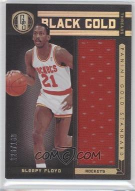 2011-12 Panini Gold Standard Black Gold Threads #BG-92 - Sleepy Floyd /149