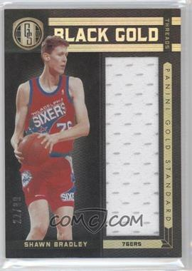 2011-12 Panini Gold Standard Black Gold Threads #BG-93 - Shawn Bradley /99