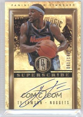 2011-12 Panini Gold Standard Superscribe Signatures #41 - Ty Lawson /149