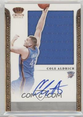 2011-12 Panini Preferred - [Base] - [Autographed] #321 - Cole Aldrich /99