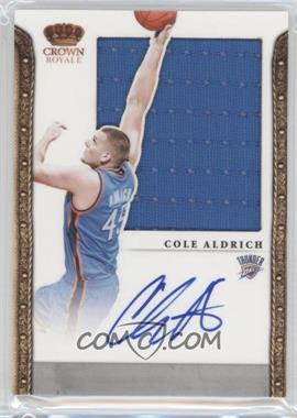 2011-12 Panini Preferred [Autographed] #321 - Cole Aldrich /99