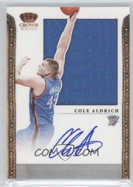 2011-12 Panini Preferred [Autographed] #321 - Cole Aldrich /99