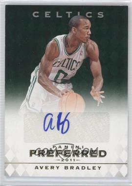 2011-12 Panini Preferred Emerald [Autographed] #298 - Avery Bradley /75