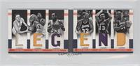 Elgin Baylor, George Mikan, Kareem Abdul-Jabbar, Magic Johnson, Shaquille O'Nea…