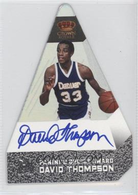 2011-12 Panini Preferred Panini's Choice Silver Signatures [Autographed] #140 - David Thompson /25
