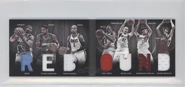 2011-12 Panini Preferred Rebound Material Booklet #5 - Kevin Love, Nenê, Shawn Bradley, Tyson Chandler, Anderson Varejao, Drew Gooden, Luol Deng /199