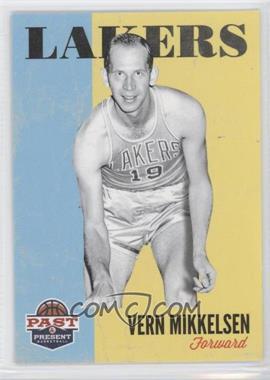 2011-12 Past & Present - [Base] #195 - Vern Mikkelsen