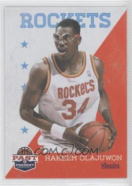 2011-12 Past & Present - [Base] #87 - Hakeem Olajuwon