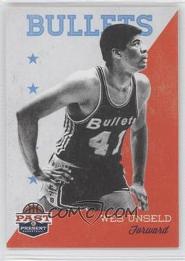 2011-12 Past & Present - [Base] #97 - Wes Unseld