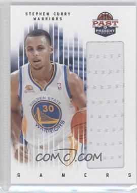 2011-12 Past & Present - Gamers Materials #79 - Stephen Curry
