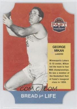 2011-12 Past & Present Bread for Life #25 - George Mikan