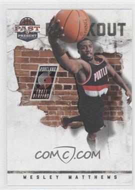 2011-12 Past & Present Breakout #18 - Wesley Matthews