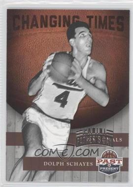 2011-12 Past & Present Changing Times Father's Day #3 - Dolph Schayes /5