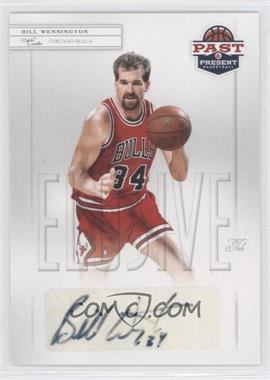 2011-12 Past & Present Elusive Ink #BW - Bill Wennington