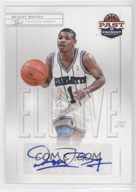 2011-12 Past & Present Elusive Ink #MBO - Muggsy Bogues