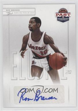 2011-12 Past & Present Elusive Ink #RB - Ron Brewer