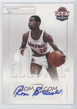 2011-12 Past & Present Elusive Ink #RB - Ron Brewer