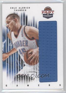 2011-12 Past & Present Gamers Materials #25 - Cole Aldrich