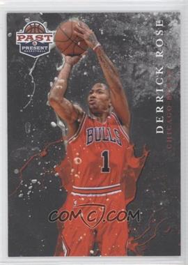 2011-12 Past & Present Raining 3's #11 - Derrick Rose