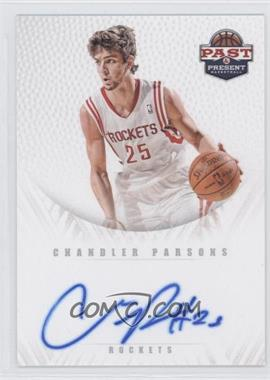 2011-12 Past & Present Redemption Draft Pick Autographs [Autographed] #17 - Chandler Parsons