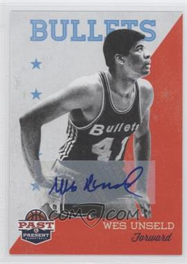 2011-12 Past & Present Signatures [Autographed] #97 - Wes Unseld