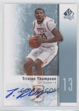 2011-12 SP Authentic - [Base] - Autograph [Autographed] #16 - Tristan Thompson