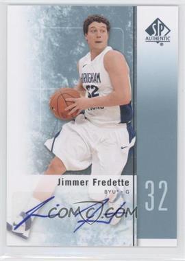 2011-12 SP Authentic - [Base] - Autograph [Autographed] #17 - Jimmer Fredette