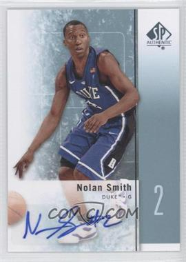 2011-12 SP Authentic - [Base] - Autograph [Autographed] #22 - Nolan Smith
