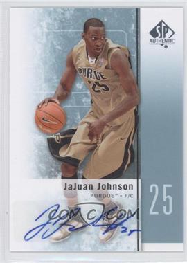 2011-12 SP Authentic - [Base] - Autograph [Autographed] #25 - JaJuan Johnson