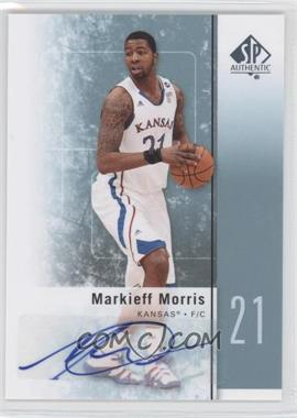 2011-12 SP Authentic - [Base] - Autograph [Autographed] #32 - Markieff Morris