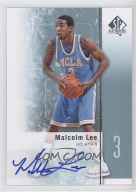 2011-12 SP Authentic - [Base] - Autograph [Autographed] #42 - Malcolm Lee