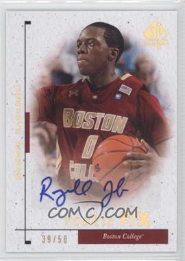 2011-12 SP Authentic - [Base] - Autograph [Autographed] #98 - Reggie Jackson /50