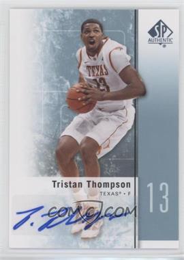 2011-12 SP Authentic Autograph [Autographed] #16 - Tristan Thompson