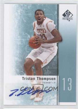2011-12 SP Authentic Autograph [Autographed] #16 - Tristan Thompson