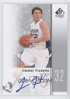 2011-12 SP Authentic Autograph [Autographed] #17 - Jimmer Fredette